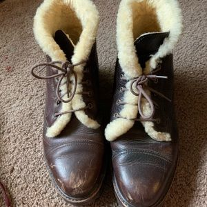 ⭕️❗️SOLD❗️⭕️Polo Ralph Lauren leather boots